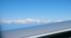 Kathmandu, Nepal – An entire post about my window seat view